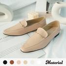 樂福鞋 銜釦尖頭樂福鞋 MA女鞋 T52837