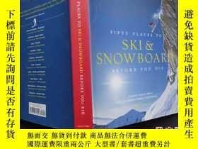 二手書博民逛書店SKI罕見& SNOWBOARD BEFORE YOU DIEY