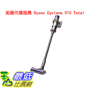 美國代購服務 Dyson Cyclone V10 Total Clean+ Cordfree Stick Vacuum $100