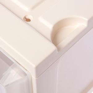 HOLA 迪士尼系列 汽車總動員 單層堆疊抽屜櫃 寬27cm 白色 閃電麥坤