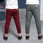 男童純棉單褲休閒長褲子韓版