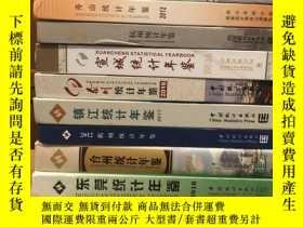 二手書博民逛書店蘇州統計年鑑2012年罕見單本Y189021
