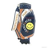 高爾夫球包 2019新款高爾夫球包拉桿包PEARLYGATES滾輪笑臉男女通用包golf包YTL 年終鉅惠