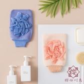 2個裝 搓澡巾洗澡巾手套強力搓泥神器雙面家用【櫻田川島】