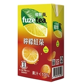 FUZE TEA飛想茶檸檬紅茶300ml*6【愛買】