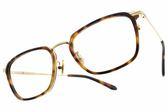 NINE ACCORD 光學眼鏡 UNION LINY C5 (琥珀棕-金) 韓系知性方框款 眼鏡框 # 金橘眼鏡