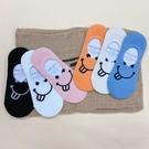 韓國襪子 童趣搞怪吐舌 隱型襪 女襪 休閒襪 運動襪 矽膠防脫落襪