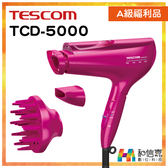 A級福利品出清【和信嘉】TESCOM TCD5000 白金奈米膠原蛋白吹風機 日本製 台灣群光公司貨 原廠保固