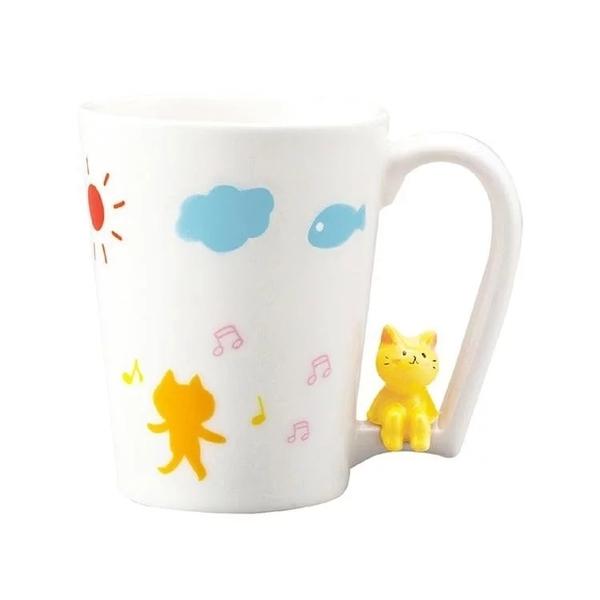 【sunart】日本sunart 馬克杯 - 喜樂貓 趣味 送禮 可愛