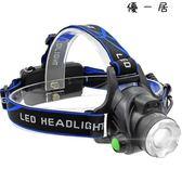戶外led感應頭燈強光充電頭戴式手電筒Y-2816