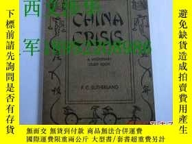 二手書博民逛書店【罕見】《中國危機》 1948年初版 CHINA CRISIS