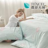 [小日常寢居]#HT017#絲柔親膚奧地利TENCEL天絲6x7尺標準雙人薄被套(台灣製)萊賽爾Lyocell