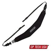 【南紡購物中心】OP/TECH USA UTILITY STRAP 3/8吋寬版相機減重背帶 黑色