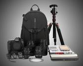店長推薦 相機包駝盟專業數碼佳能尼康單反包小型雙肩休閒相機包防盜攝影包背包igo