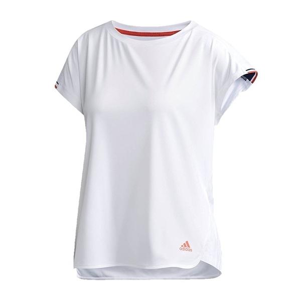 樂買網 ADIDAS 18FW 女款 網球上衣 圓領 Club Pleats Tee系列 CF7988