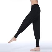 瑜伽服 舞蹈褲男女現代舞練功服瑜伽服燈籠褲寬蹈練功服寬鬆練功褲