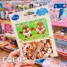 迪士尼悠遊卡貼票卡貼紙 花栗鼠 奇奇蒂蒂 悠遊卡貼票卡貼紙 COCOS DS025