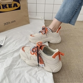 小白鞋 老爹鞋女ins潮鞋秋季新款百搭網紅秋鞋休閒運動鞋超火小白鞋