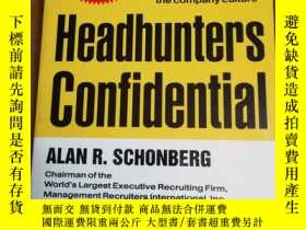 二手書博民逛書店Headhunters罕見Confidential! 125 I