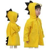 韓國兒童雨衣-歲兒童雨衣男童7小童雨鞋幼兒園寶寶雨披女童韓國小孩恐龍防水 花間公主