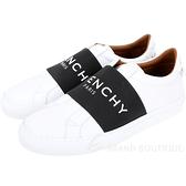 GIVENCHY PARIS WEBBING 字母織帶休閒小白鞋 1930361-20