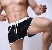 沙灘褲居家短褲四角內褲 男平角泳褲