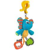 《 澳洲 Playgro 培高 》吊掛安撫玩具 - 叮噹小象╭★ JOYBUS玩具百貨