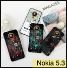 【萌萌噠】諾基亞 Nokia 5.3 復古偽裝保護套 全包軟殼 懷舊彩繪 創意新潮 錄音帶 手機殼 手機套
