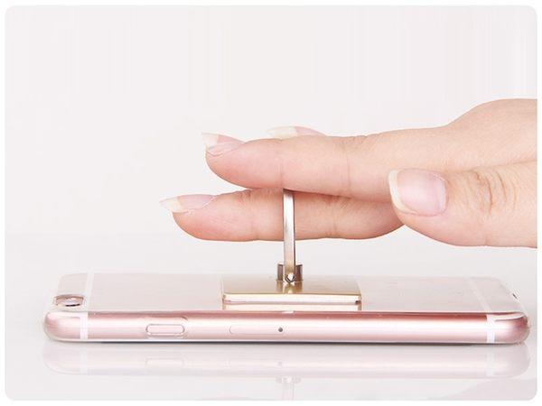 【純色指環】附掛鉤 黏貼式卡扣支架 手機平板懶人手機座 素色防摔手機架 360度旋轉指環架