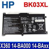 HP BK03XL 3芯 . 電池 14-ba143tx 14-ba152tx 14-ba133tx 14-ba134tx 14-ba135tx 14-ba136tx 14-ba-120tx 14-ba-123tu 14-ba125tu