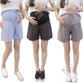 (低價促銷)孕婦短褲 孕婦短褲外穿薄款夏季款新品時尚寬鬆休閒寬夏裝五分短褲子
