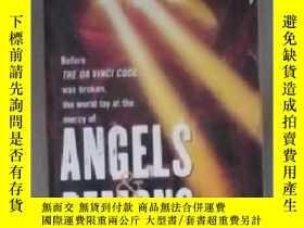 二手書博民逛書店英文原版罕見Angels & Demons by Dan Bro