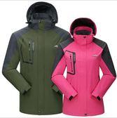 【超值單層】防風防水透氣衝鋒衣機能外套 女款 5色 L-4XL【CP16009】