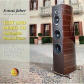 【停看聽音響唱片】【CD】Sonus faber:Test & Demo