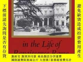 二手書博民逛書店The罕見Villa In The Life Of Renaissance RomeY256260 David