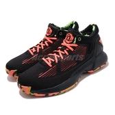 adidas 籃球鞋 D Rose 10 黑 橘 男鞋 運動鞋 飆風玫瑰 【ACS】 EH2099