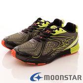 【MOONSTAR】日本月星競速童鞋-透氣競速款-SSJ7926黑-(21cm-26cm)