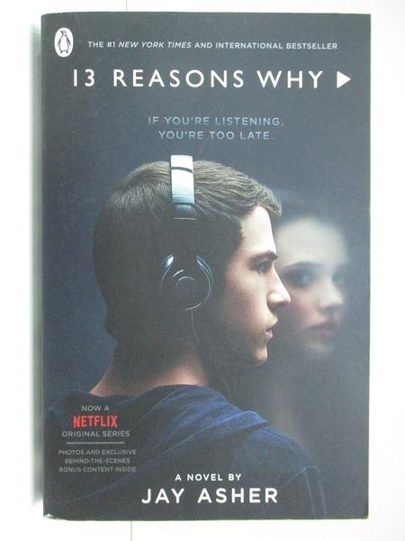 【書寶二手書T1/原文小說_BKK】Thirteen Reasons Why_Jay Asher