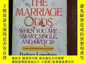 二手書博民逛書店BEATING罕見THE MARRIAGE ODDSY42402 Barbara lovenheim Berk