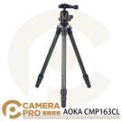 ◎相機專家◎ AOKA CMP163CL 便攜碳纖維三腳架 中柱可變自拍棒 微單 單眼 直播錄影 六年保固 公司貨