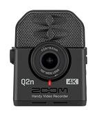 ZOOM Q2N-4K 廣角4K 隨身直播攝影機 內建高音質XY立體聲麥克風 【公司貨】