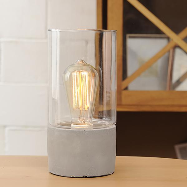 純粹玻璃燭檯燈-生活工場