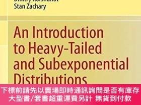 二手書博民逛書店An罕見Introduction To Heavy-tailed And Subexponential Distr
