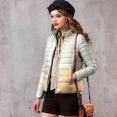羽絨外套 短款-歐洲保暖修身顯瘦女外套3色72i3[巴黎精品]