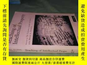 二手書博民逛書店teaching罕見of intellectual proper