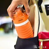 便攜戶外健身硅膠運動水壺可折疊成人伸縮杯旅行杯 娜娜小屋
