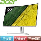 Acer ED273 27型 VA曲面薄邊框電腦螢幕