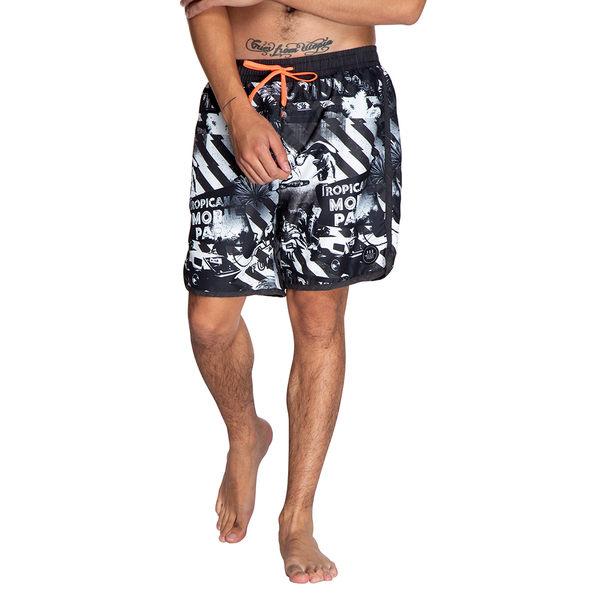 PROTEST 男 海灘褲 (真實黑) ALASKA BEACHSHORT