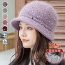 兔毛點點漁夫帽(5色)【994339W】...