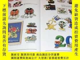 二手書博民逛書店RARE罕見The Art of Disney PINS book Mickey Minnie Pooh Goof